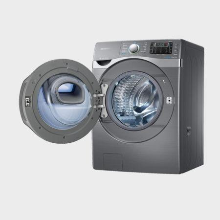 Samsung WD19J AddWash 潔徑門系列 - 19 kg 魔力銀 洗脫烘