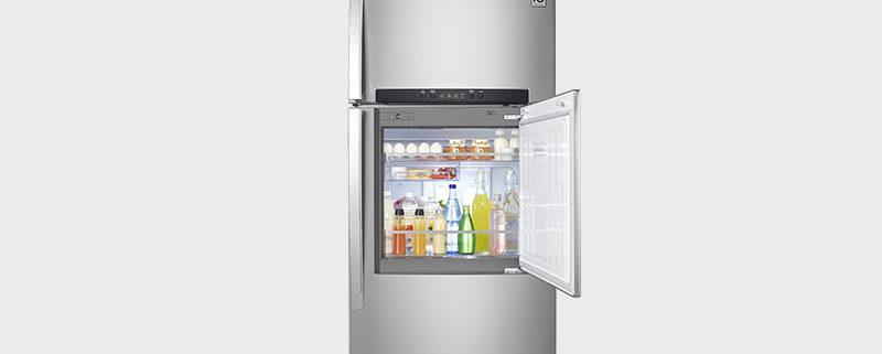 LG 門中門SMART變頻上下門冰箱 GN-DA560SV
